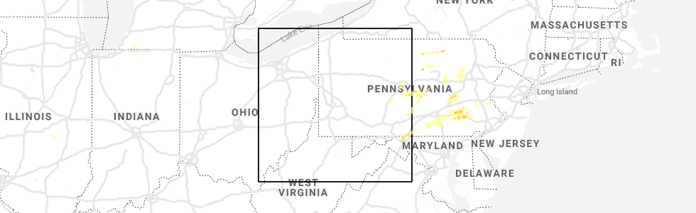Hail Map for Pittsburgh, PA - Sunday, May 19, 2019