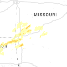 Regional Hail Map for Springfield, MO - Monday, May 20, 2019