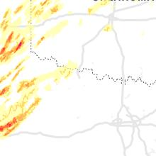 Hail Map for wichita-falls-tx 2019-05-20