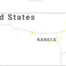 Regional Hail Map for Hays, KS - Tuesday, May 21, 2019