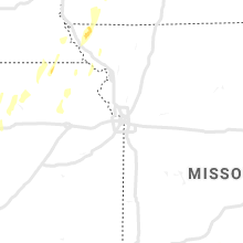 Regional Hail Map for Kansas City, MO - Tuesday, May 21, 2019
