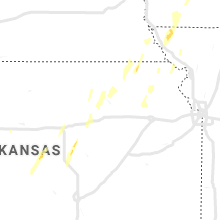 Regional Hail Map for Manhattan, KS - Tuesday, May 21, 2019