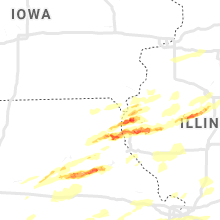 Regional Hail Map for Kahoka, MO - Wednesday, May 22, 2019