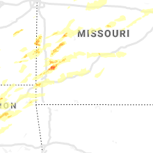 Regional Hail Map for Springfield, MO - Wednesday, May 22, 2019