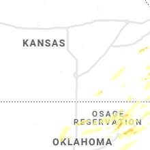 Regional Hail Map for Wichita, KS - Wednesday, May 22, 2019