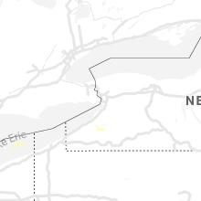 Regional Hail Map for Buffalo, NY - Thursday, May 23, 2019