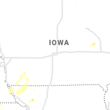 Regional Hail Map for Des Moines, IA - Thursday, May 23, 2019