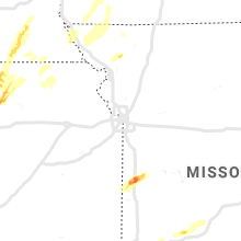 Regional Hail Map for Kansas City, MO - Thursday, May 23, 2019