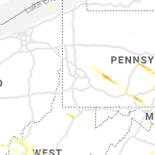 Regional Hail Map for Pittsburgh, PA - Thursday, May 23, 2019
