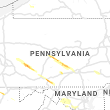 Regional Hail Map for State College, PA - Thursday, May 23, 2019