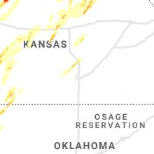 Regional Hail Map for Wichita, KS - Thursday, May 23, 2019