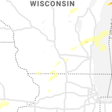Regional Hail Map for Madison, WI - Friday, May 24, 2019