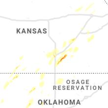 Regional Hail Map for Wichita, KS - Friday, May 24, 2019