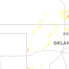 Regional Hail Map for Woodward, OK - Friday, May 24, 2019