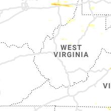 Regional Hail Map for Charleston, WV - Saturday, May 25, 2019