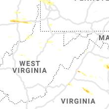 Hail Map for elkins-wv 2019-05-25
