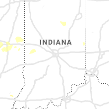 Regional Hail Map for Indianapolis, IN - Saturday, May 25, 2019