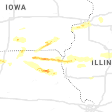 Regional Hail Map for Kahoka, MO - Saturday, May 25, 2019