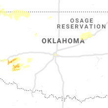 Regional Hail Map for Oklahoma City, OK - Saturday, May 25, 2019