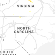 Regional Hail Map for Raleigh, NC - Saturday, May 25, 2019