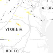 Regional Hail Map for Richmond, VA - Saturday, May 25, 2019