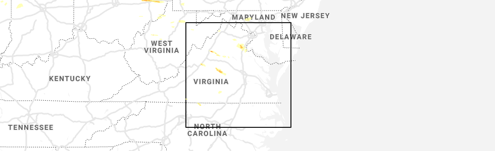 Interactive Hail Maps - Hail Map for Stafford Courthouse, VA on map of frederick md area, map of virginia, map of washington dc area, map of stafford texas area, map of stafford uk area,