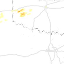 Regional Hail Map for Wichita Falls, TX - Saturday, May 25, 2019