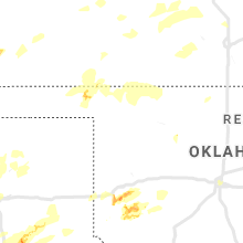 Regional Hail Map for Woodward, OK - Saturday, May 25, 2019