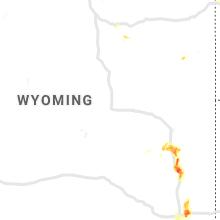 Hail Map for casper-wy 2019-05-26