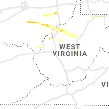 Regional Hail Map for Charleston, WV - Sunday, May 26, 2019