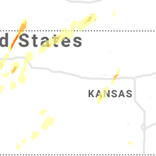 Regional Hail Map for Hays, KS - Sunday, May 26, 2019