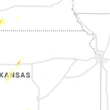 Regional Hail Map for Manhattan, KS - Sunday, May 26, 2019