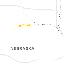 Regional Hail Map for Oneill, NE - Sunday, May 26, 2019