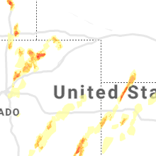 Regional Hail Map for Yuma, CO - Sunday, May 26, 2019