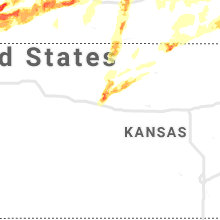 Regional Hail Map for Hays, KS - Monday, May 27, 2019