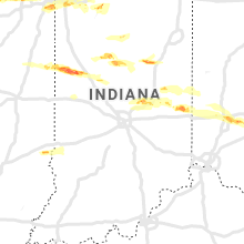 Regional Hail Map for Indianapolis, IN - Monday, May 27, 2019