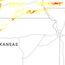 Regional Hail Map for Manhattan, KS - Monday, May 27, 2019