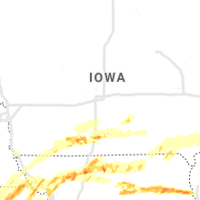 Regional Hail Map for Des Moines, IA - Tuesday, May 28, 2019