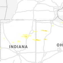 Regional Hail Map for Fort Wayne, IN - Tuesday, May 28, 2019