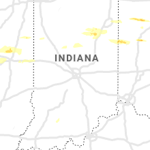 Regional Hail Map for Indianapolis, IN - Tuesday, May 28, 2019