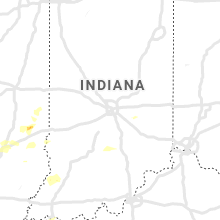 Regional Hail Map for Indianapolis, IN - Wednesday, May 29, 2019
