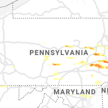 Regional Hail Map for State College, PA - Wednesday, May 29, 2019
