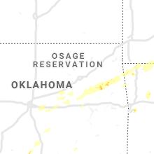 Regional Hail Map for Tulsa, OK - Wednesday, May 29, 2019