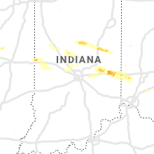 Regional Hail Map for Indianapolis, IN - Thursday, May 30, 2019