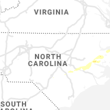 Regional Hail Map for Raleigh, NC - Thursday, May 30, 2019