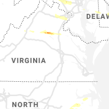 Regional Hail Map for Richmond, VA - Thursday, May 30, 2019