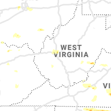 Regional Hail Map for Charleston, WV - Friday, May 31, 2019