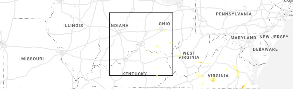 Hail Map for Cincinnati, OH - Friday, May 31, 2019 Cincinnati Ohio Map on