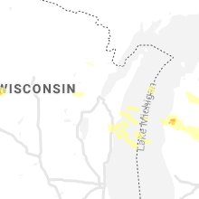 Regional Hail Map for Green Bay, WI - Friday, May 31, 2019