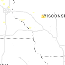 Regional Hail Map for La Crosse, WI - Friday, May 31, 2019